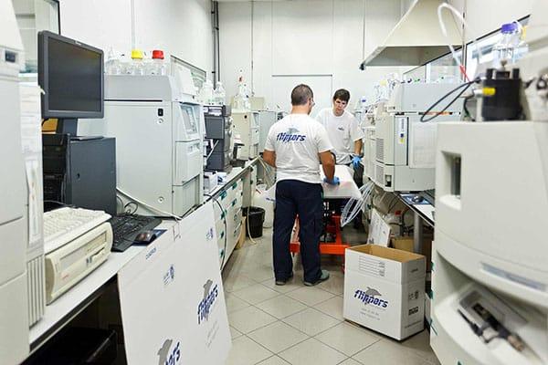 Trasllat de laboratoris