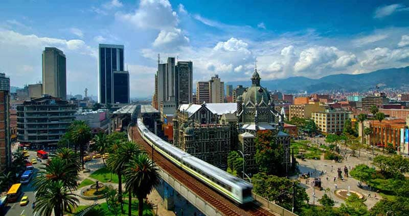Mudanzas a Colombia Medellin