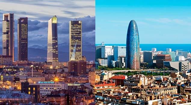 Mudanza local en Barcelona o Madrid