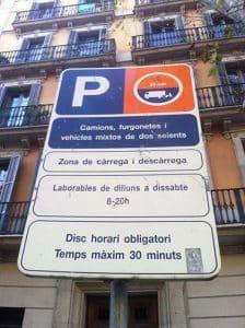 Permisos de aparcamiento