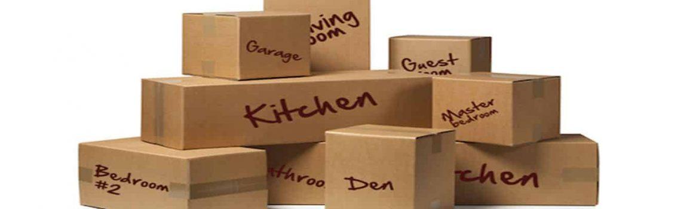 Consejos para mudanzas - Cajas