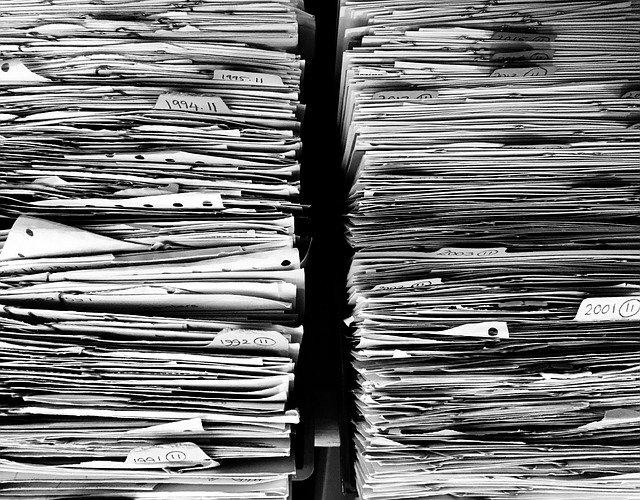 Traslado de oficinas Documentacion de archivo