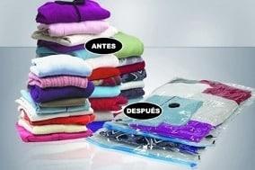 Como embalar ropa para mudanza Bolsa al vacio