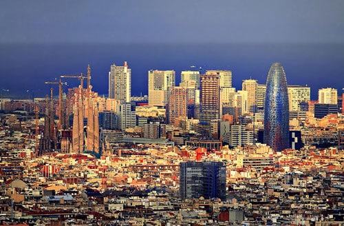Guardamobles oficines Barcelona Skyline